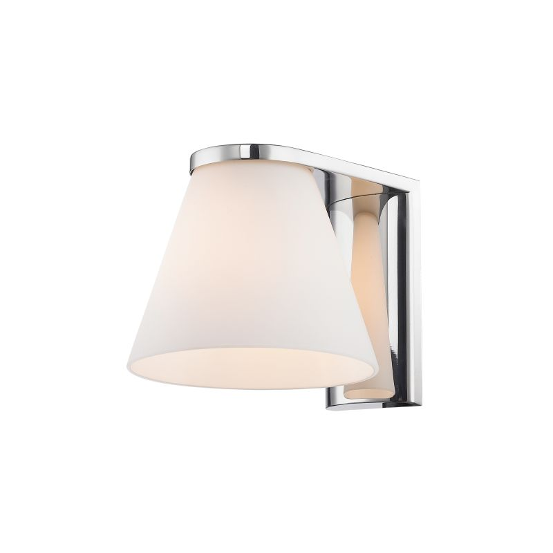 Iberlamp C428-01-CH Chrome Contemporary Beale Wall Sconce