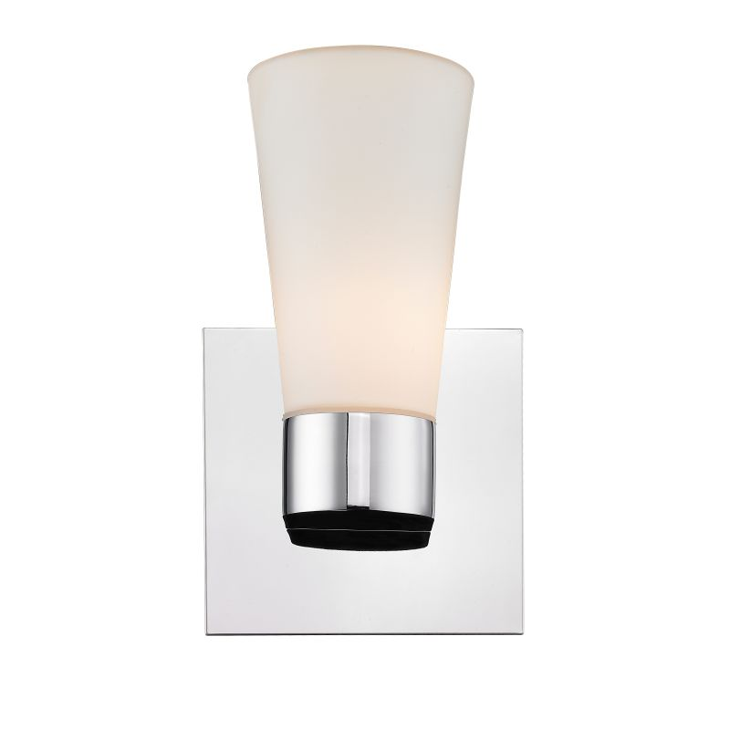 Iberlamp C731-01-CH Chrome Contemporary Cono Wall Sconce