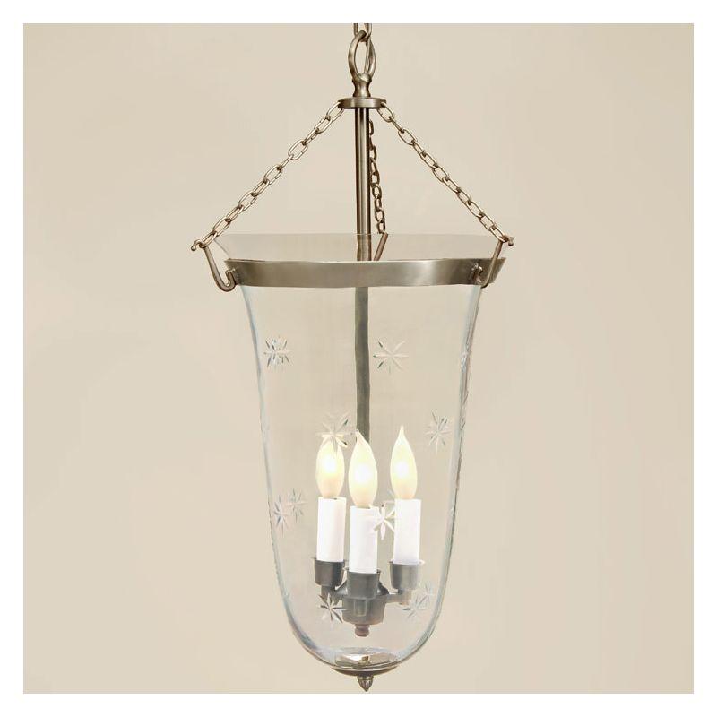 JVI Designs 1098 Sophia 3 Light Full Sized Pendant Pewter Indoor
