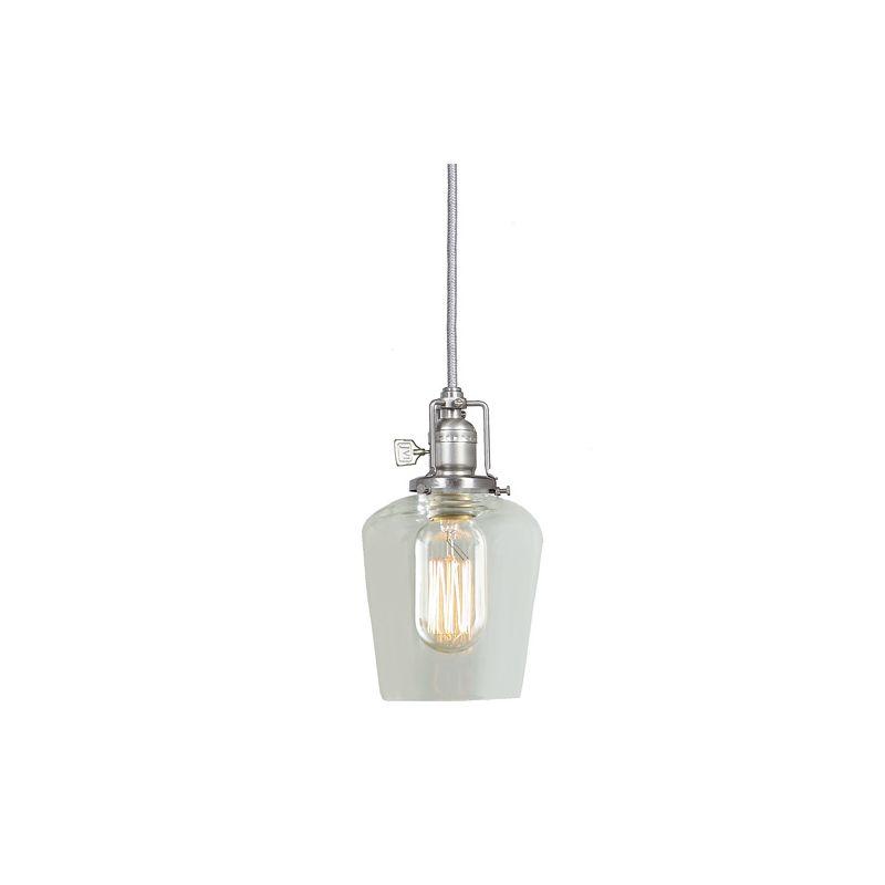"JVI Designs 1200-17-S9 Union Square 1 Light 8.5"" Tall Pendant with"