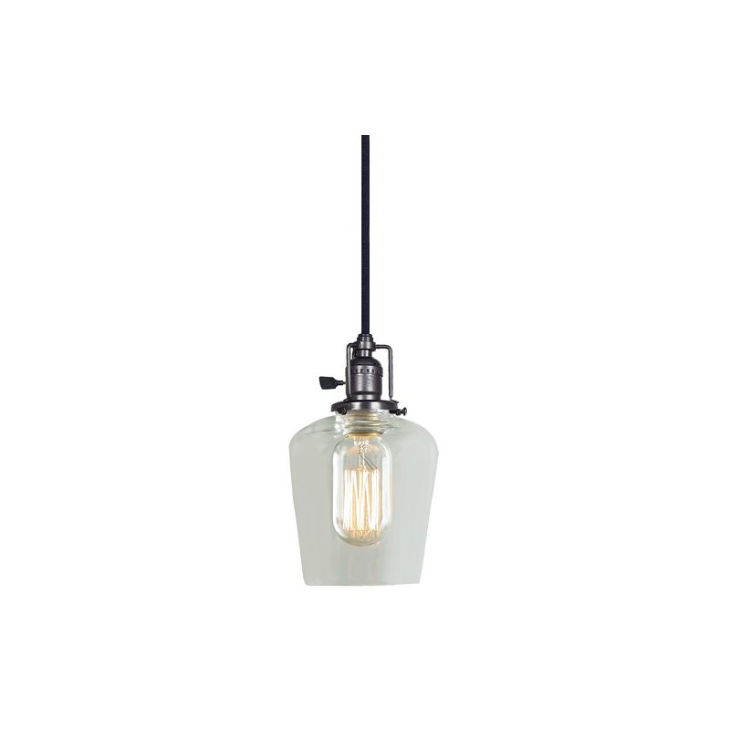 "JVI Designs 1200-18-S9 Union Square 1 Light 8.5"" Tall Pendant with"