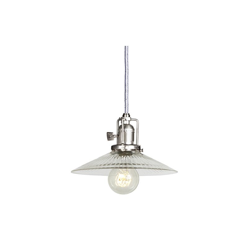 "JVI Designs 1201-17-S1-CR Union Square 1 Light 5.5"" Tall Pendant with"