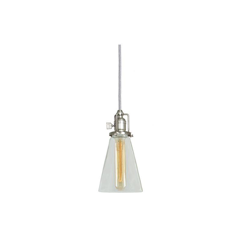 "JVI Designs 1201-17-S10 Union Square 1 Light 11"" Tall Pendant with"