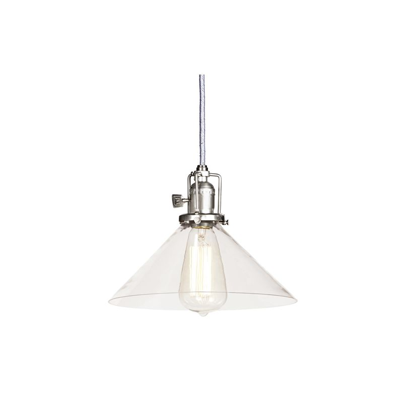 "JVI Designs 1201-17-S2 Union Square 1 Light 7.5"" Tall Pendant with"