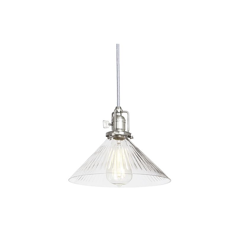 "JVI Designs 1201-17-S2-CR Union Square 1 Light 7.5"" Tall Pendant with"