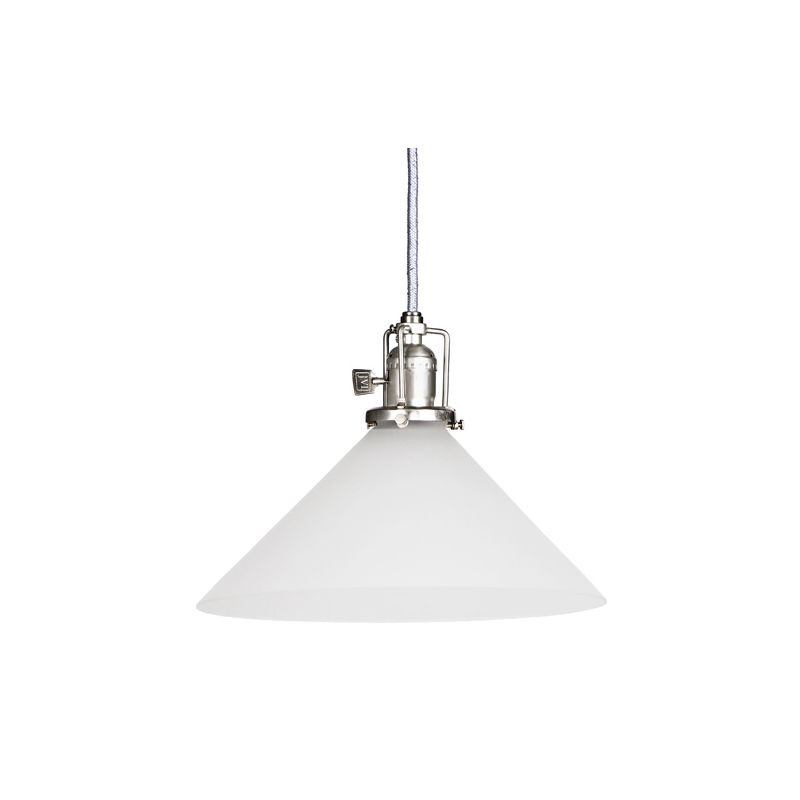 "JVI Designs 1201-17-S2-F Union Square 1 Light 7.5"" Tall Pendant with"