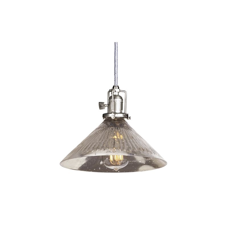 "JVI Designs 1201-17-S2-SR Union Square 1 Light 7.5"" Tall Pendant with"