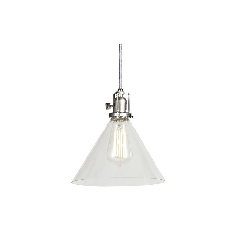 "JVI Designs 1201-17-S3 Union Square 1 Light 9.5"" Tall Pendant with"