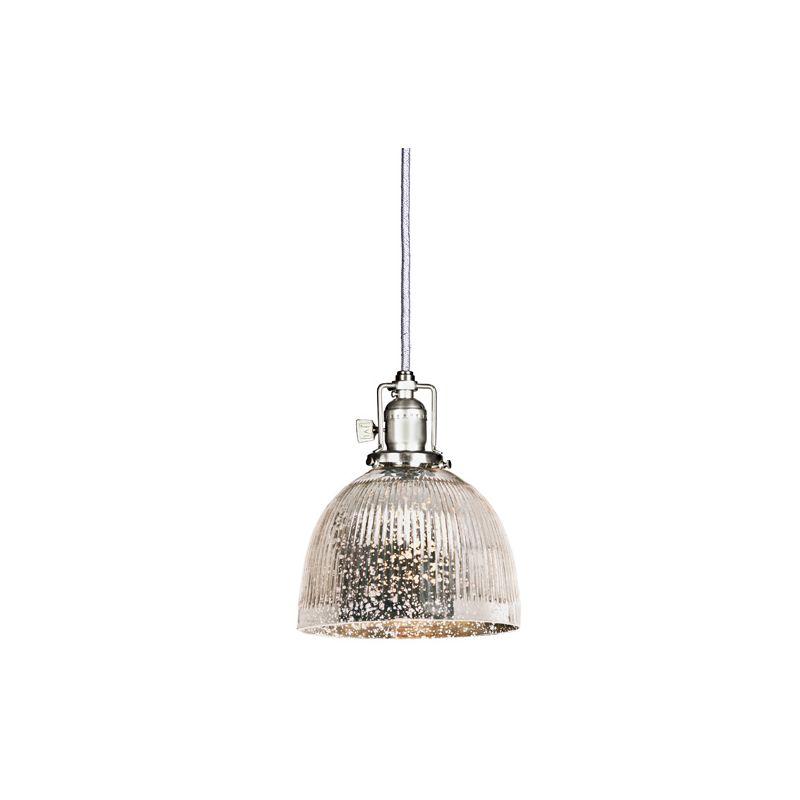 "JVI Designs 1201-17-S5-SR Union Square 1 Light 8"" Tall Pendant with"