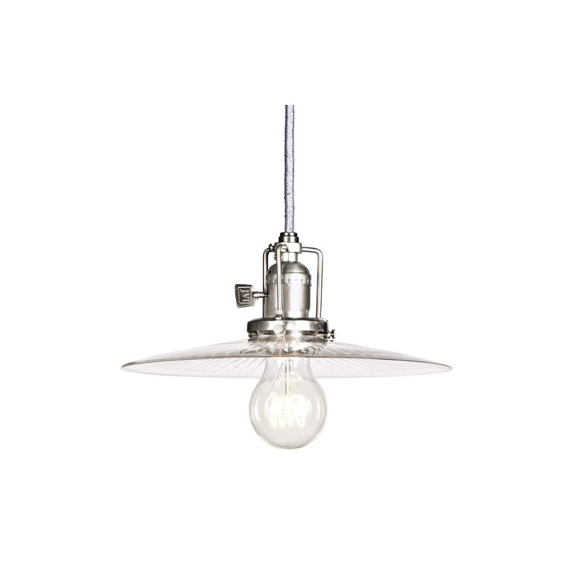 "JVI Designs 1201-17-S6-CR Union Square 1 Light 4.5"" Tall Pendant with"