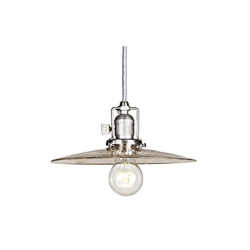 "JVI Designs 1201-17-S6-SR Union Square 1 Light 4.5"" Tall Pendant with"