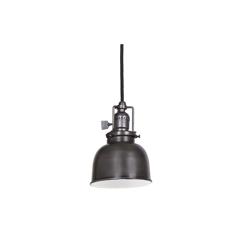 "JVI Designs 1201-18-M2 Union Square 1 Light 7"" Tall Pendant with Metal"
