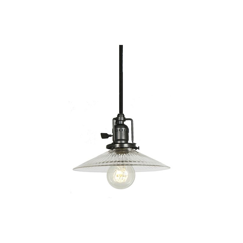 "JVI Designs 1201-18-S1-CR Union Square 1 Light 5.5"" Tall Pendant with"