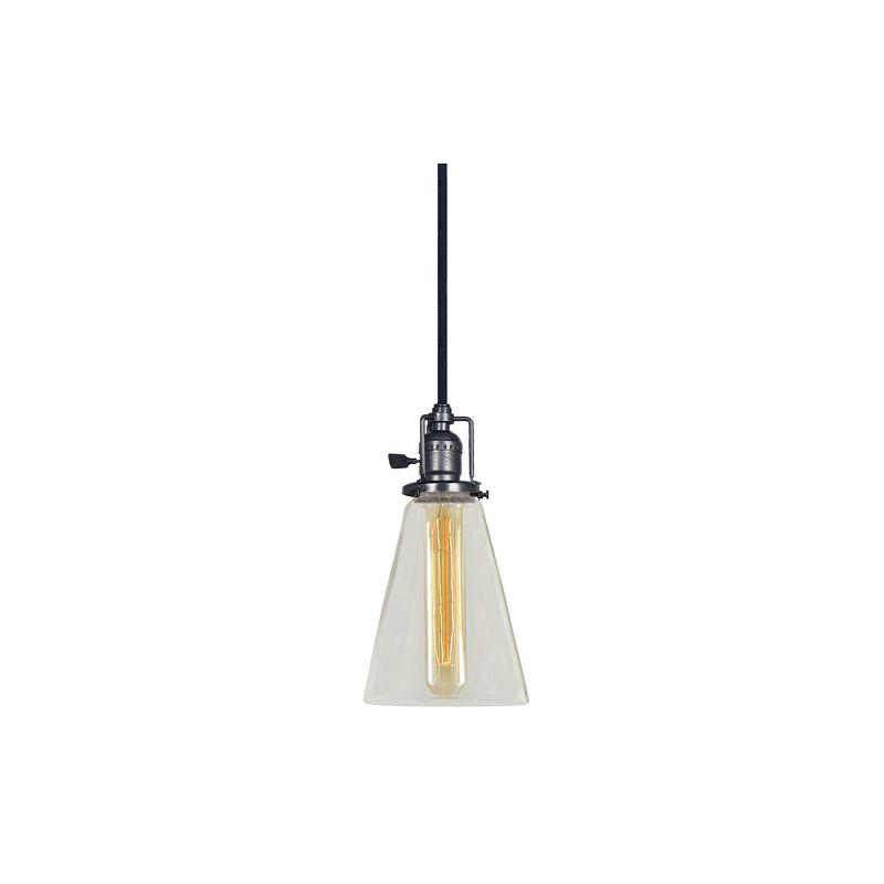 "JVI Designs 1201-18-S10 Union Square 1 Light 11"" Tall Pendant with"
