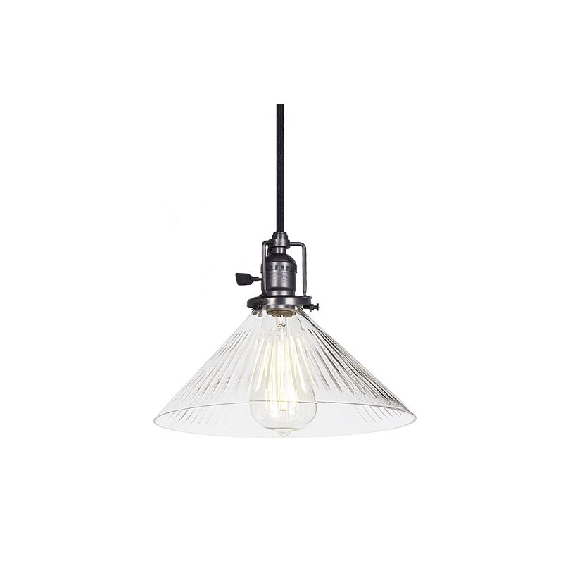 "JVI Designs 1201-18-S2-CR Union Square 1 Light 7.5"" Tall Pendant with"