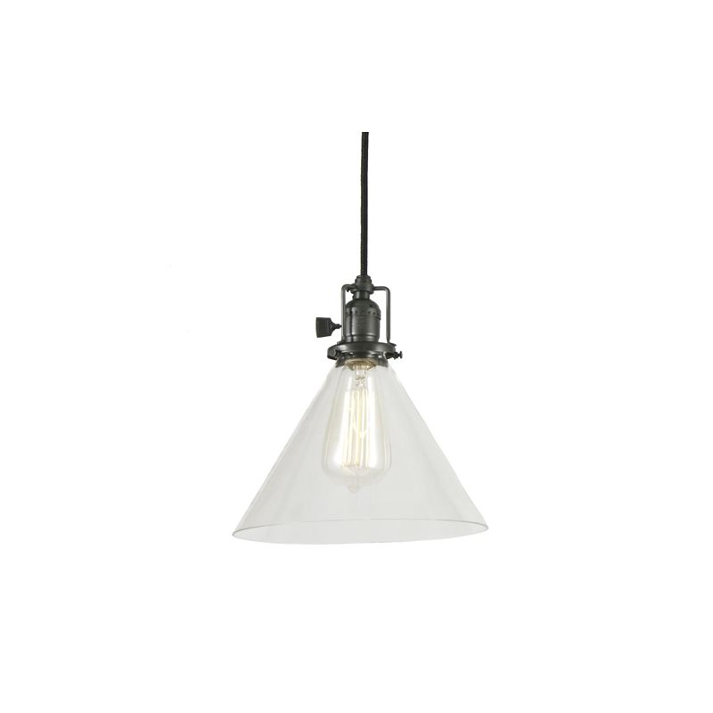 "JVI Designs 1201-18-S3 Union Square 1 Light 9.5"" Tall Pendant with"