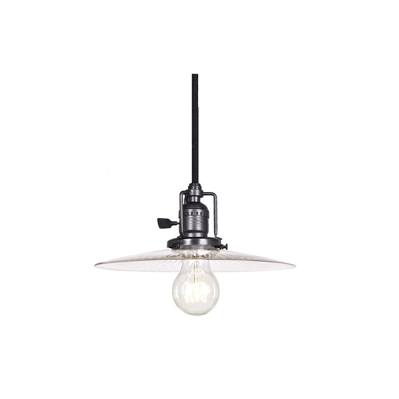 "JVI Designs 1201-18-S6-CR Union Square 1 Light 4.5"" Tall Pendant with"