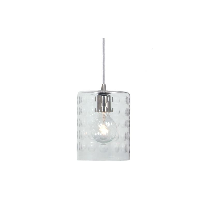 "JVI Designs 1300-08-G10 Grand Central 1 Light 8.5"" Tall Pendant with"