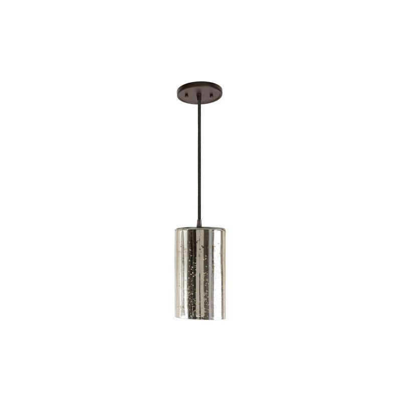 """JVI Designs 1300-08-G5-AM Grand Central 1 Light 10"""" Tall Antique"""
