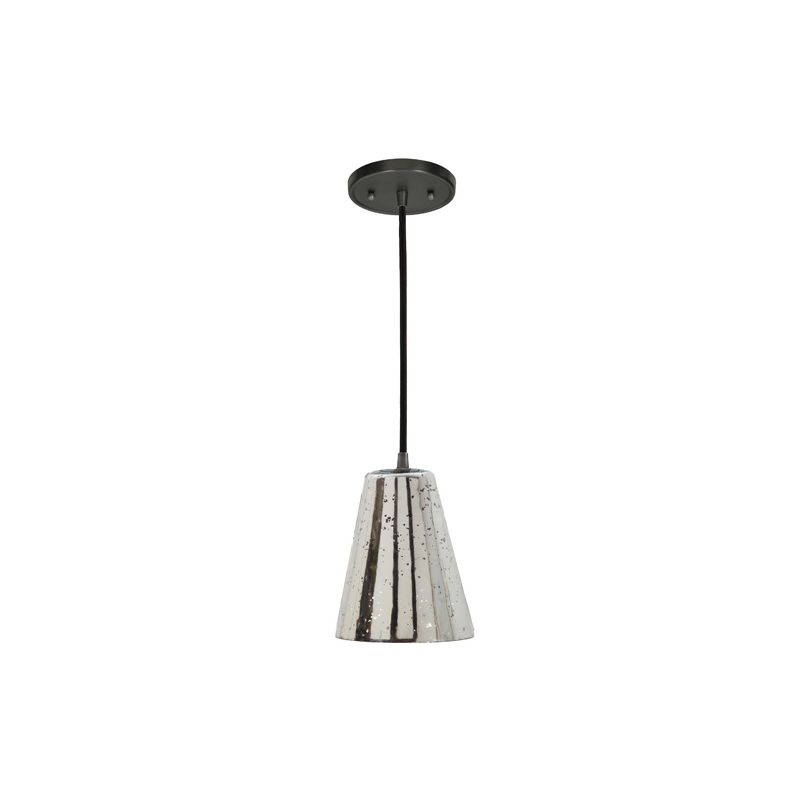 "JVI Designs 1300-17-G1-AM Grand Central 1 Light 8"" Tall Pendant with"