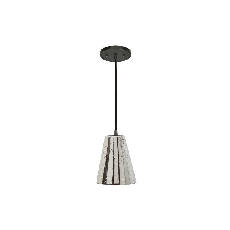 "JVI Designs 1300-17-G1-AM Grand Central 1 Light 8"" Tall Pendant with"