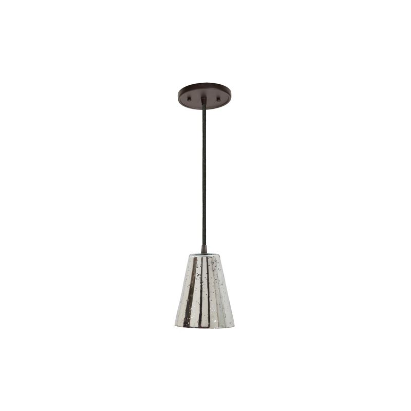"JVI Designs 1300-17-G2-AM Grand Central 1 Light 10"" Tall Pendant with"
