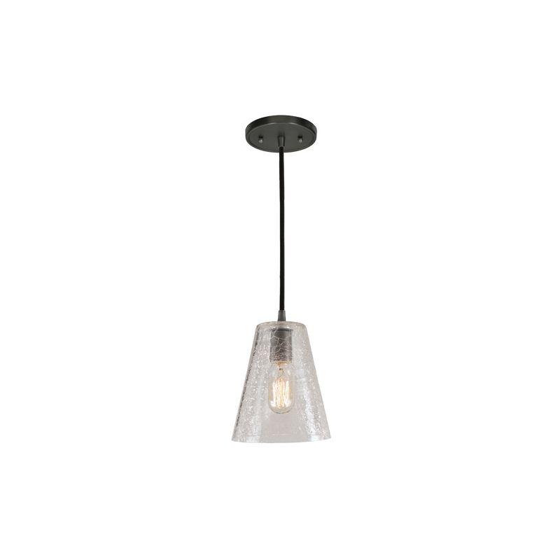 "JVI Designs 1300-17-G2-CK Grand Central 1 Light 10"" Tall Pendant with"