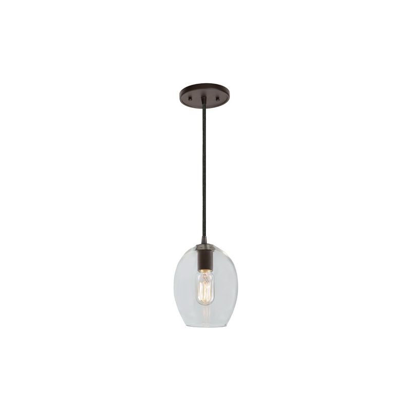 """JVI Designs 1300-17-G3 Grand Central 1 Light 8.75"""" Tall Pendant with"""