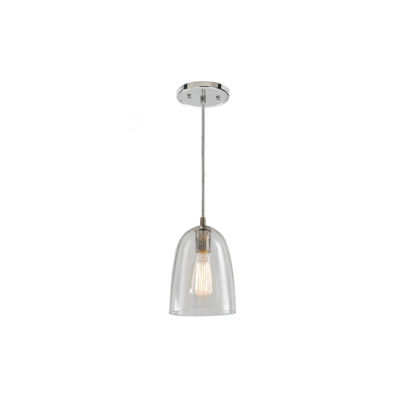 """JVI Designs 1300-17-G4 Grand Central 1 Light 9"""" Tall Pendant with"""