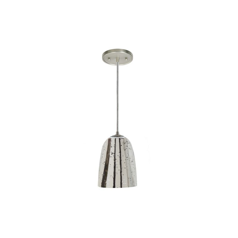 "JVI Designs 1300-17-G4-AM Grand Central 1 Light 9"" Tall Pendant with"