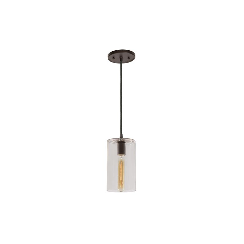 """JVI Designs 1300-17-G5 Grand Central 1 Light 10"""" Tall Pendant with"""