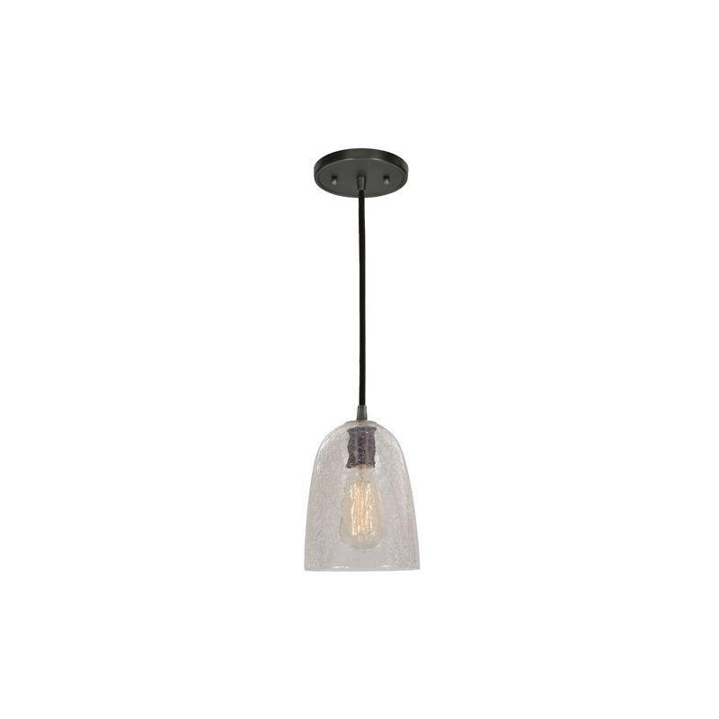 "JVI Designs 1300-17-G5-CK Grand Central 1 Light 10"" Tall Pendant with"