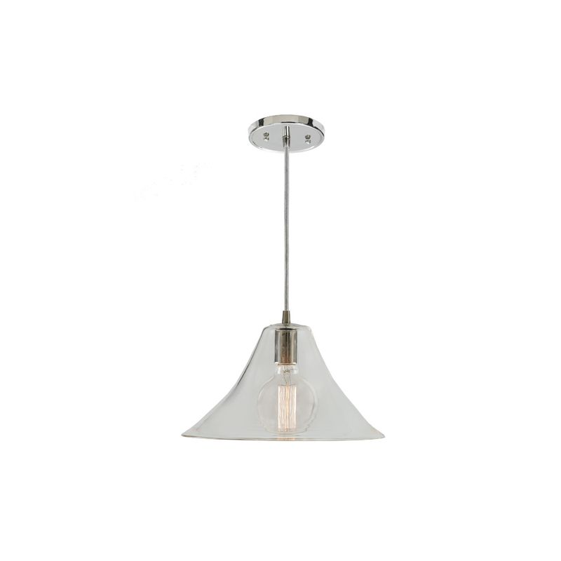 """JVI Designs 1300-17-G8 Grand Central 1 Light 7.5"""" Tall Pendant with"""
