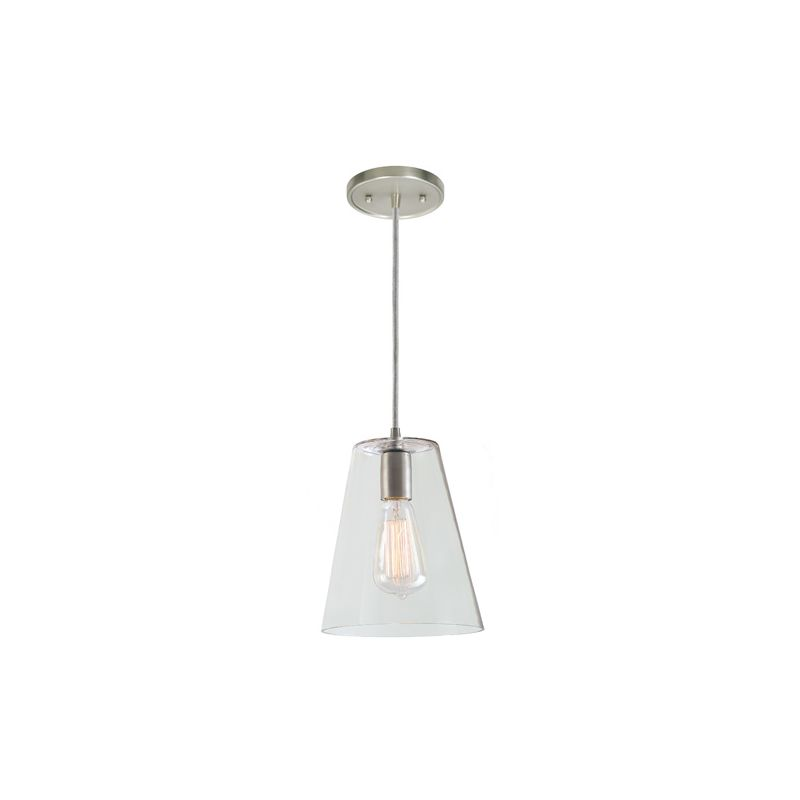 "JVI Designs 1300-18-G2 Grand Central 1 Light 10"" Tall Pendant with"