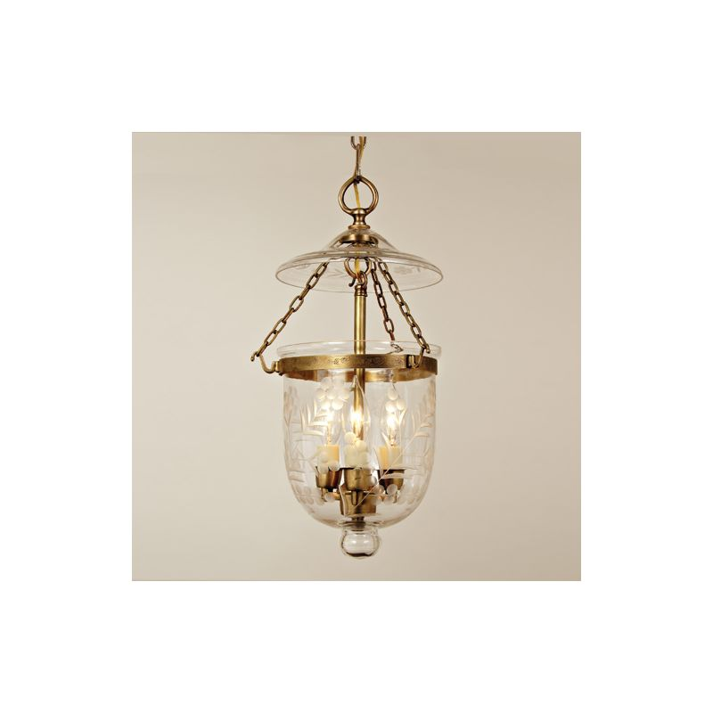 JVI Designs 1007 10 Rubbed Brass Hundi 3 Light Full Sized