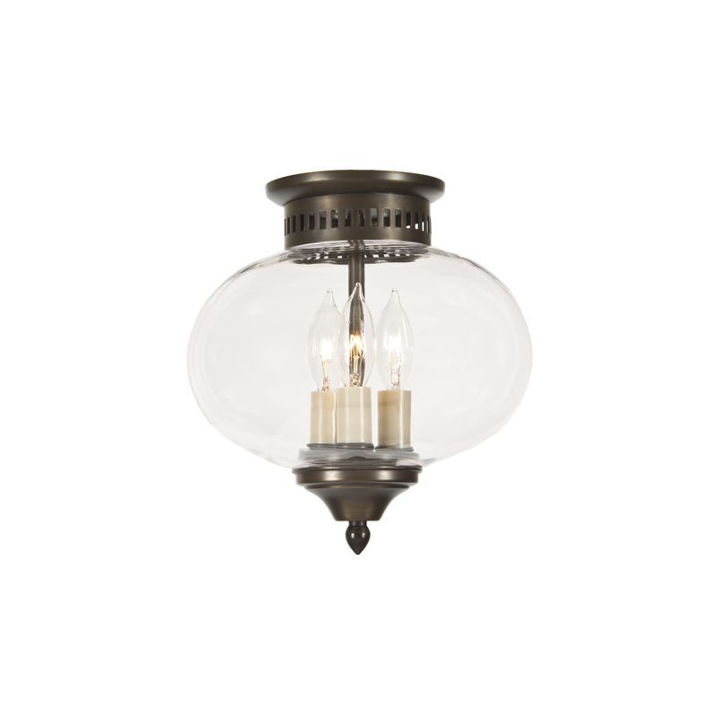 JVI Designs 1173 3 light Flushmount Ceiling Fixture from the Classic