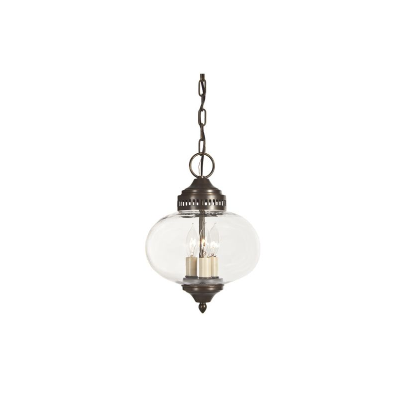 JVI Designs 1175 3 light Foyer Ceiling Fixture from the Classic Onions