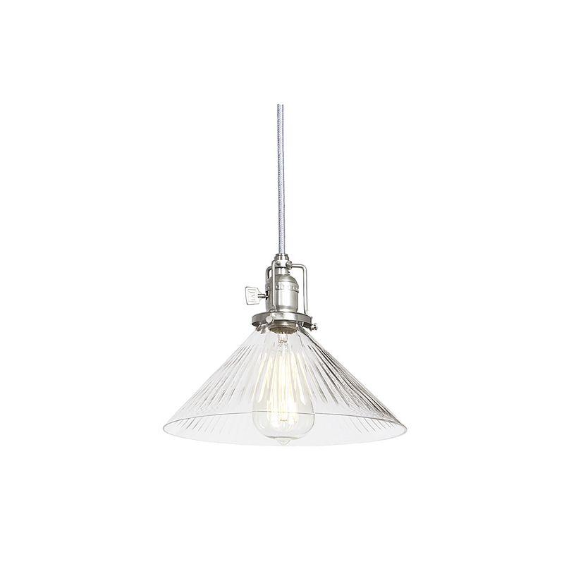 JVI Designs 1200-17-s2-cr 1 light Down Light Pendant from the Union