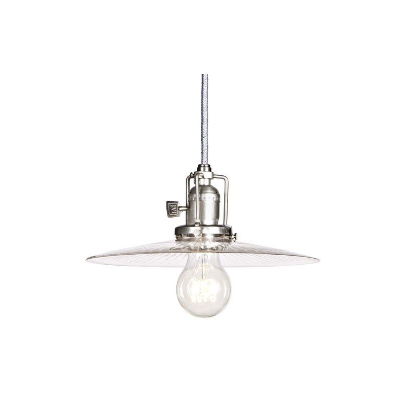 JVI Designs 1200-17-s6-Cr 1 light Down Light Pendant from the Union