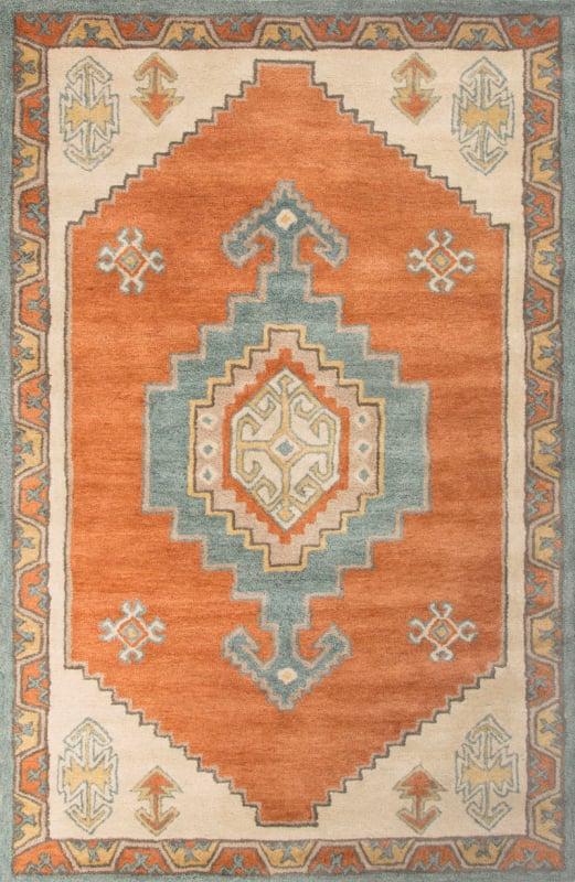Jaipur Saratoga Apricot Orange Rug Contemporary Tribal Pattern Wool Sale $99.00 ITEM: bci2831970 ID#:RUG127721 UPC: 887962522494 :