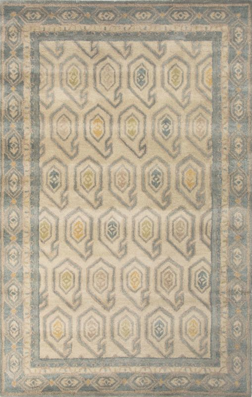 Jaipur Oakland Oyster White Rug Contemporary Tribal Pattern Wool Sale $88.00 ITEM: bci2831555 ID#:RUG127804 UPC: 887962523309 :