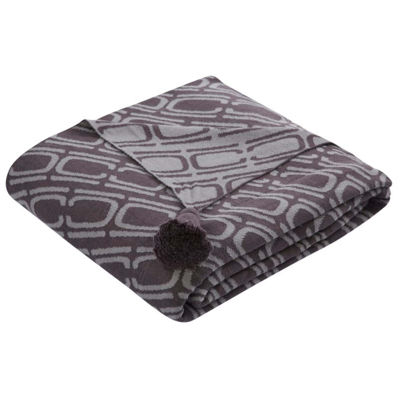 Jaipur SBK02 Nki16 Dark Slate Throw Cotton Sublime By Nikki Chu Throw