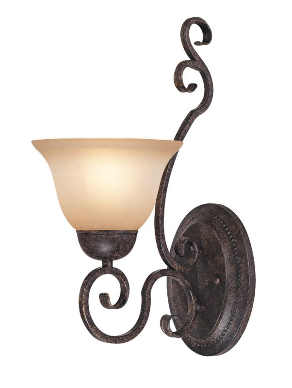 Jeremiah Lighting 22031 Sheridan 1 Light Indoor Wall Sconce - 7.5 Sale $59.00 ITEM: bci1064953 ID#:22031-FM UPC: 80629800878 :