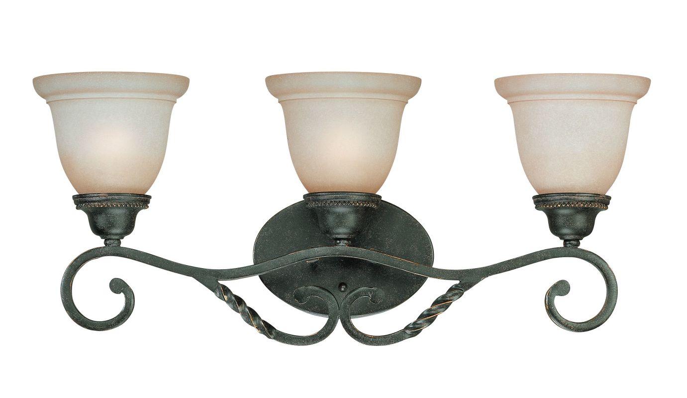Jeremiah Lighting 22403 Sutherland 3 Light Bathroom Vanity Light - 26 Sale $119.00 ITEM: bci1064969 ID#:22403-ET UPC: 80629801042 :