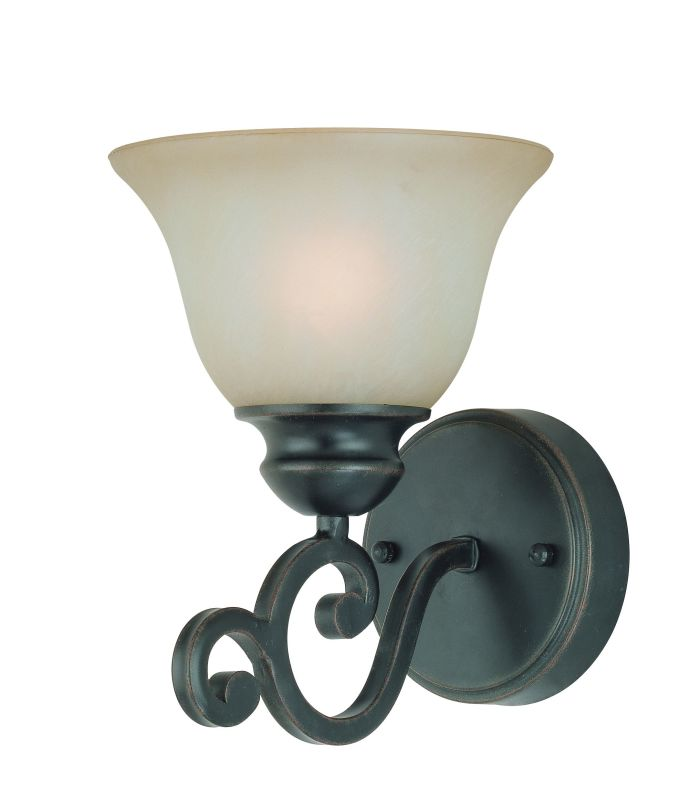Jeremiah Lighting 23001 Farmington 1 Light Wall Sconce - 7.5 Inches