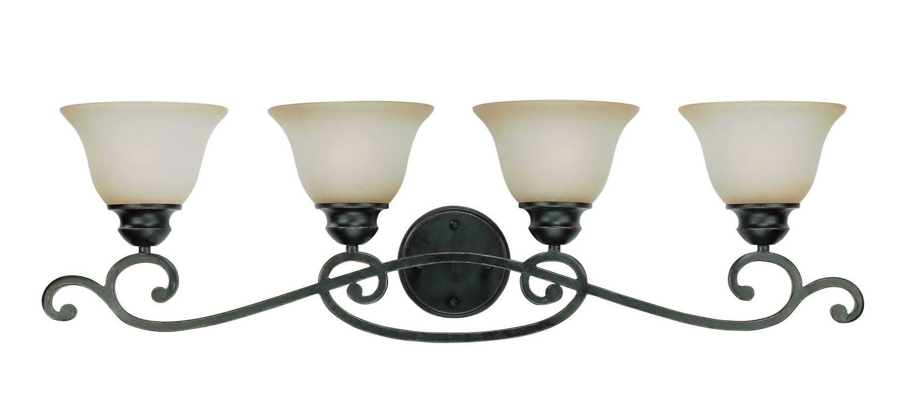 Jeremiah Lighting 23004 Farmington 4 Light Bathroom Vanity Light -