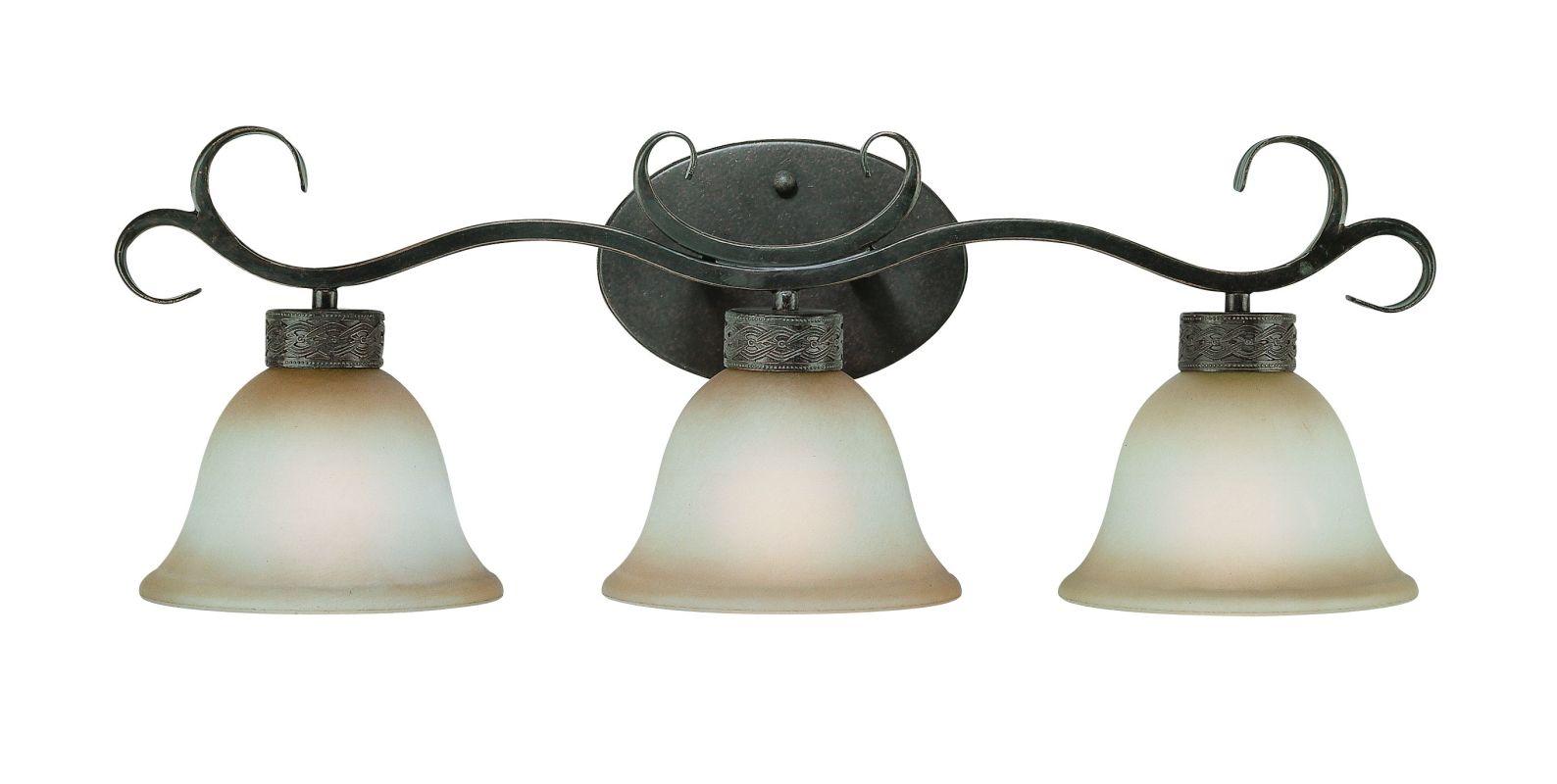Jeremiah Lighting 23603 Brookshire Manor 3 Light Bathroom Vanity Light