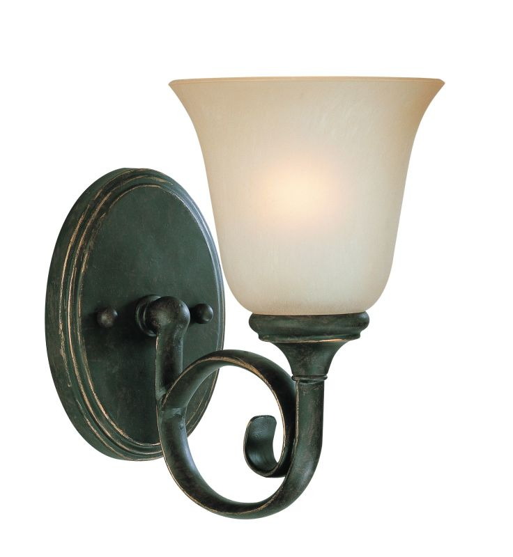 Jeremiah Lighting 24201 Barrett Place 1 Light Bathroom Wall Sconce - 6 Sale $59.00 ITEM: bci1065066 ID#:24201-MB UPC: 80629801950 :