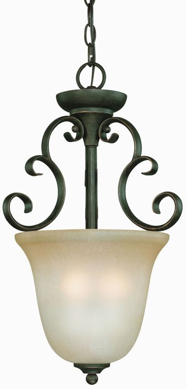 Jeremiah Lighting 24223 Barrett Place 3 Light Urn Shaped Indoor