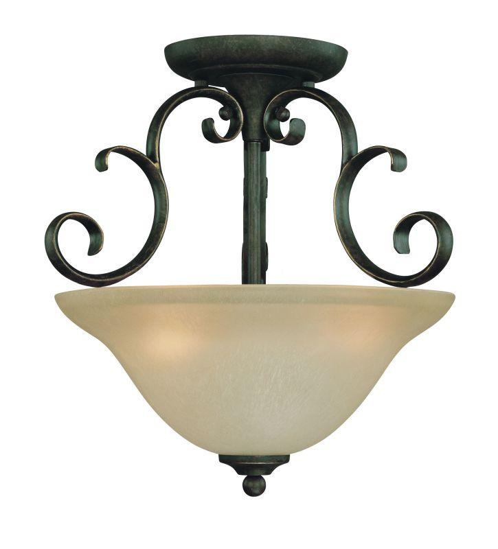 Jeremiah Lighting 24263 3 Light Semi-Flush Mocha Bronze Indoor Sale $115.00 ITEM: bci1065080 ID#:24263-MB UPC: 80629802124 :